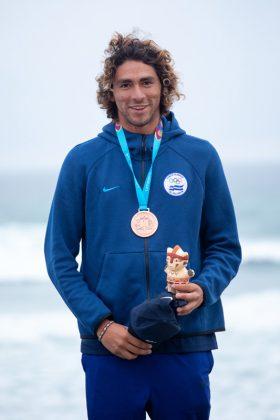 Bryan Perez, Jogos Pan-Americanos 2019, Punta Rocas, Peru. Foto: ISA / Jimenez.