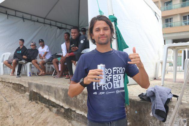 Facundo Arreyes, Praia do Forte, Cabo Frio (RJ). Foto: @surfetv / @carlosmatiasrj.