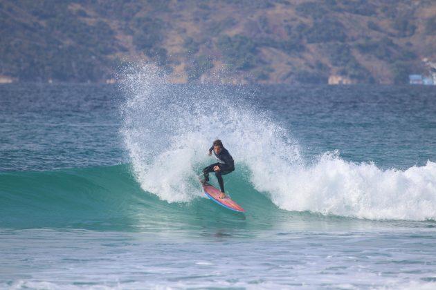 Giuliano Arreyes, Praia do Forte, Cabo Frio (RJ). Foto: @surfetv / @carlosmatiasrj.