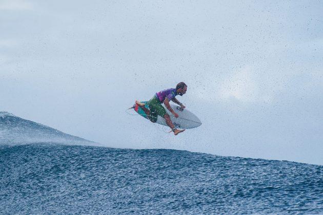 Caio Ibelli, Tahiti Pro 2019, Teahupoo. Foto: WSL / Dunbar.