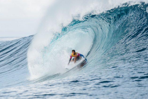 Kanoa Igarashi, Tahiti Pro 2019, Teahupoo. Foto: WSL / Dunbar.