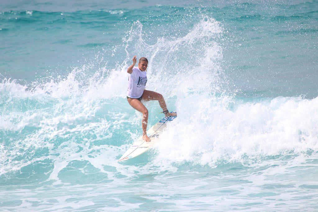 Karol Ribeiro passou bem pela semifinal.