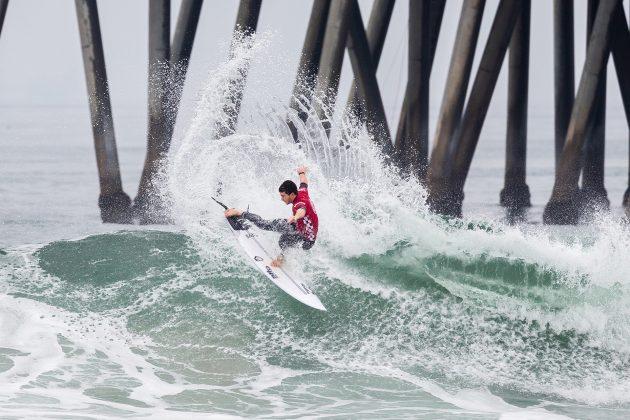 Liam O'Brien2, Vans US Open 2019, Huntington Beach, Califórnia (EUA). Foto: WSL / Morris.