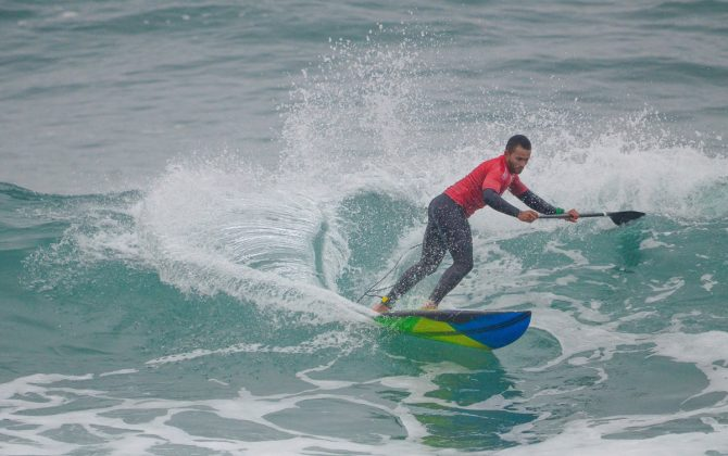 Luiz Diniz, Jogos Pan-Americanos 2019, Punta Rocas, Peru. Foto: Latinwave.cl.
