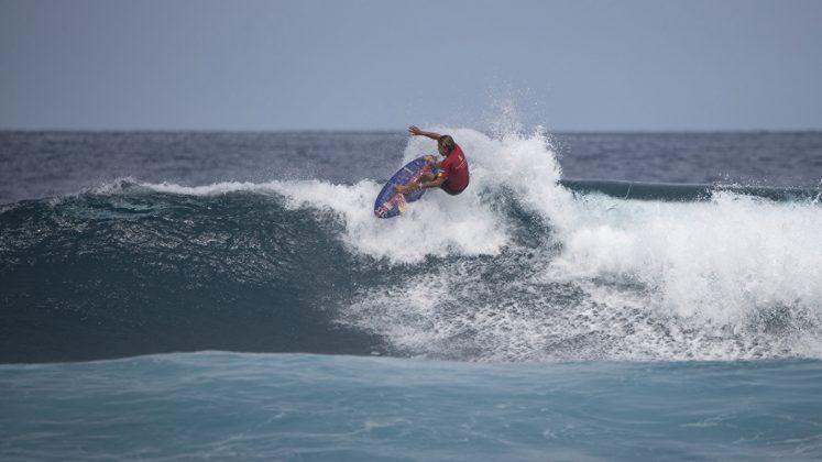 Kai Lenny, Surfing Champions Trophy 2019, Sultans, Maldivas. Foto: Divulgação.