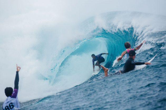 Seth Moniz, Tahiti Pro 2019, Teahupoo. Foto: WSL / Dunbar.