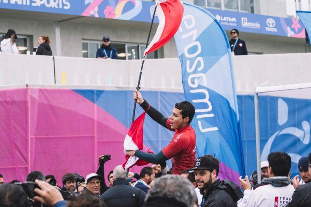 Lucca Mesinas, Jogos Pan-Americanos 2019, Punta Rocas, Peru. Foto: ISA / Jimenez.