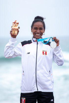 Maria Fernanda Reyes, Jogos Pan-Americanos 2019, Punta Rocas, Peru. Foto: ISA / Jimenez.