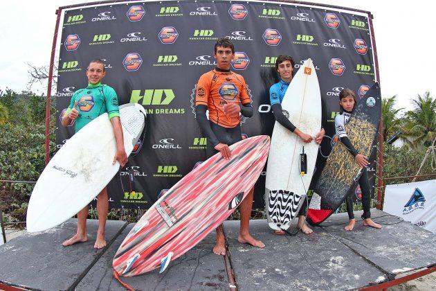 Pódio Júnior, SP Contest 2019, Maresias, São Sebastião (SP). Foto: Munir El Hage.
