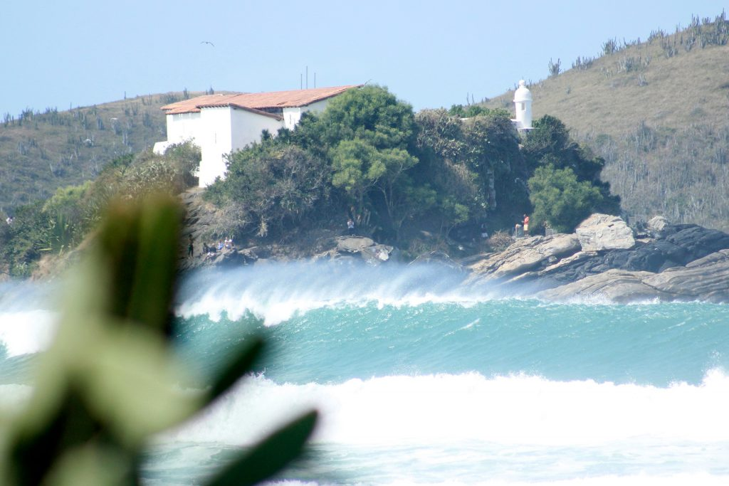 A Praia do Forte, em Cabo Frio (RJ), vai sediar a terceira etapa do Circuito Pro do Rio.