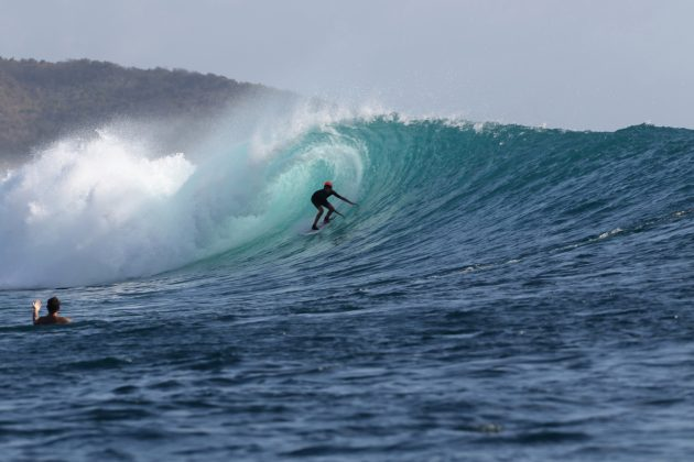 Ryan Coelho, Desert Point, Lombok. Foto: Arquivo pessoal.