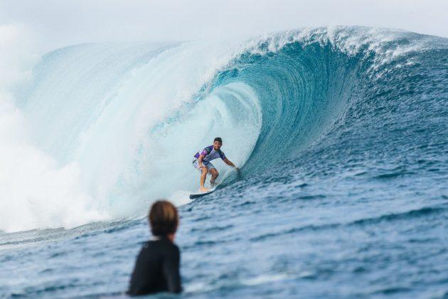 Deivid Silva, Tahiti Pro 2019, Teahupoo. Foto: WSL / Dunbar.