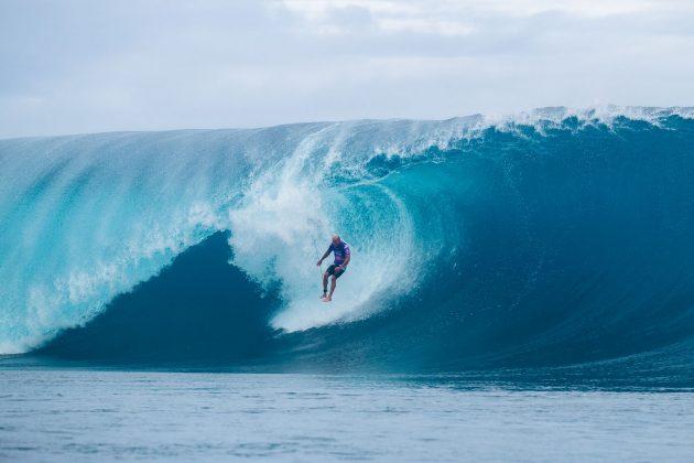 Kelly Slater, Tahiti Pro 2019, Teahupoo. Foto: WSL / Dunbar.