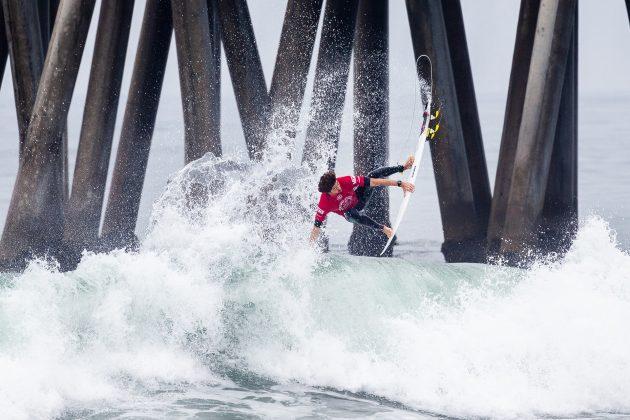 Yago Dora, Vans US Open 2019, Huntington Beach, Califórnia (EUA). Foto: WSL / Morris.