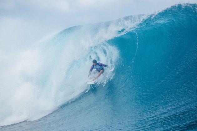 Sebastian Zietz, Tahiti Pro 2019, Teahupoo. Foto: WSL / Dunbar.