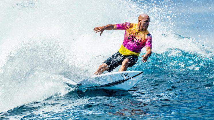 Kelly Slater, Tahiti Pro 2019, Teahupoo. Foto: Divulgação / WSL.