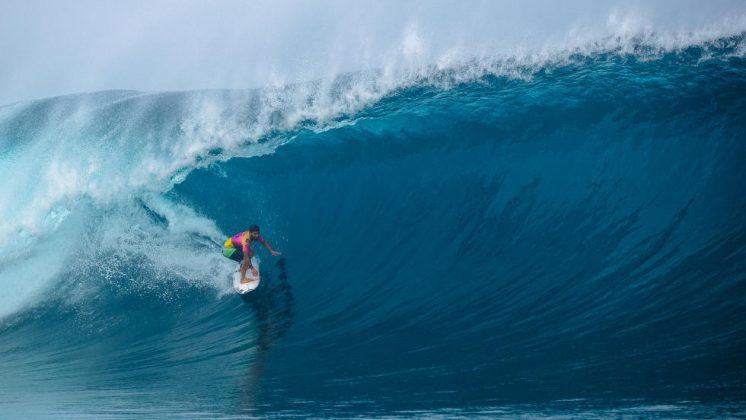 Italo Ferreira, Tahiti Pro 2019, Teahupoo. Foto: WSL / Dunbar.