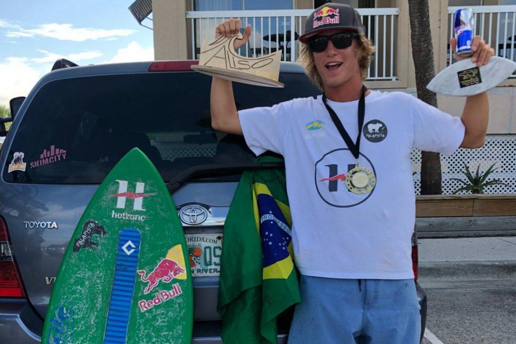 Lucas Fink, Circuito Mundial de Skimboard
