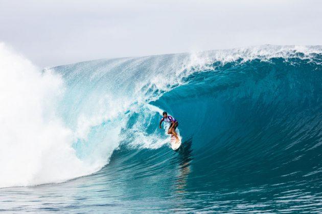 Jeremy Flores, Tahiti Pro 2019, Teahupoo. Foto: WSL / Cestari.