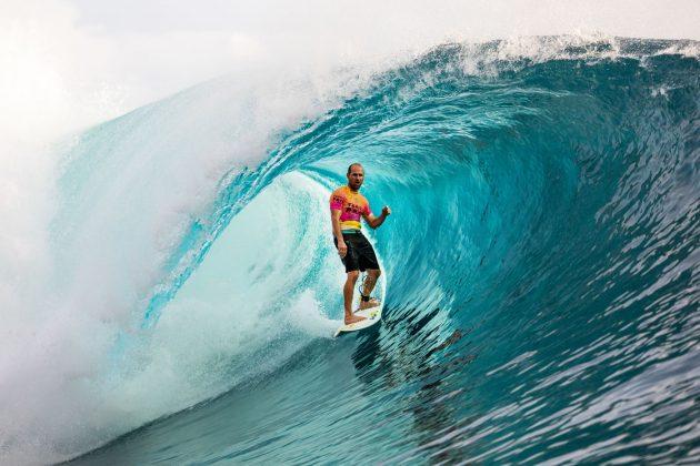 CJ Hobgood, Tahiti Pro 2019, Teahupoo. Foto: WSL / Cestari.
