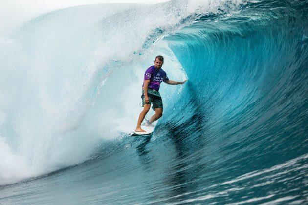 Damien Hobgood, Tahiti Pro 2019, Teahupoo. Foto: WSL / Cestari.