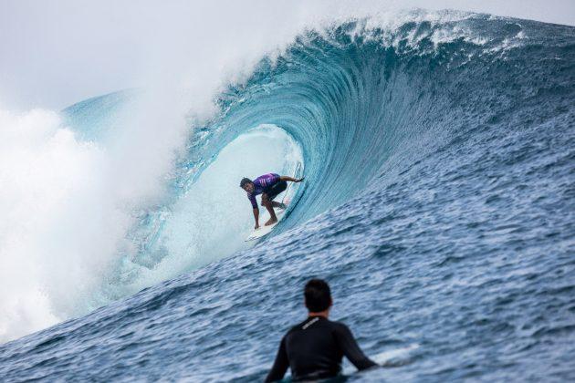 Seth Moniz, Tahiti Pro 2019, Teahupoo. Foto: WSL / Cestari.