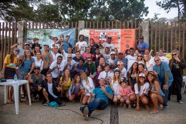 Pódio confraternização, Arpoador Clássico 2019. Foto: Ana Paula Vasconcelos.