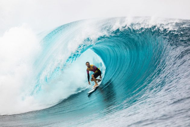 Jordy Smith, Tahiti Pro 2019, Teahupoo. Foto: WSL / Cestari.