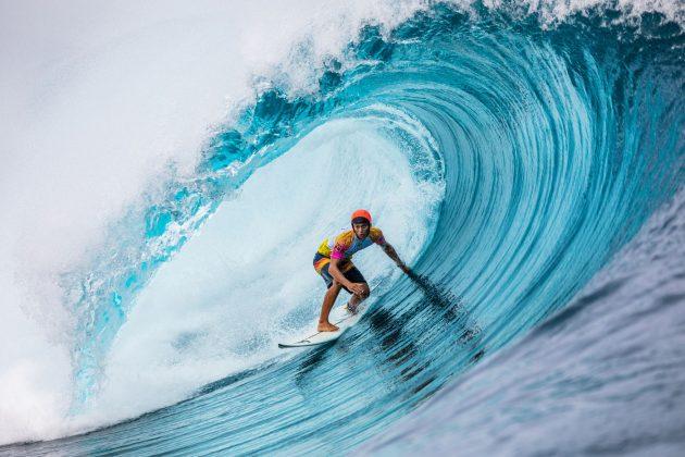 Kauli Vaast, Tahiti Pro 2019, Teahupoo. Foto: WSL / Cestari.