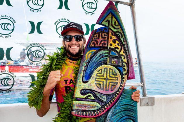 Owen Wright, Tahiti Pro 2019, Teahupoo. Foto: WSL / Cestari.
