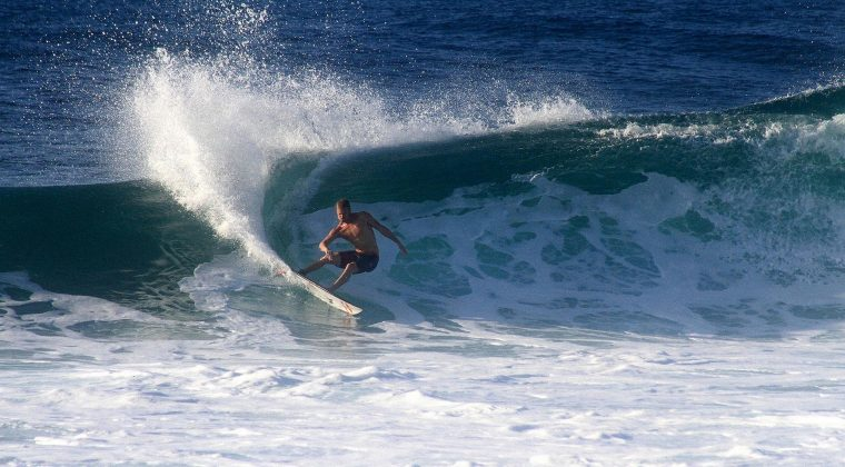 Kolohe Andino, North Shore de Oahu, Havaí. Foto: David Nagamini.