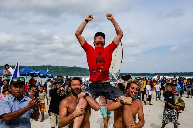 Jordy Maree, Nias Pro 2019, Lagundri Bay, Indonésia. Foto: WSL / Tim Hain.