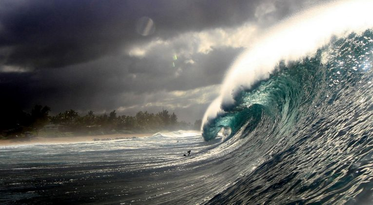 Pipeline, North Shore de Oahu, Havaí. Foto: David Nagamini.