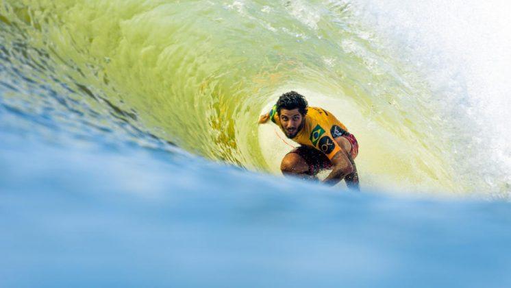 Filipe Toledo, Freshwater Pro 2019, Surf Ranch, Califórnia (EUA). Foto: Divulgação / WSL.