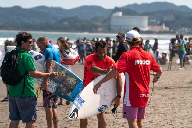 Martín Passeri, ISA World Surfing Games 2019, Miyazaki, Japão. Foto: ISA / Evans.