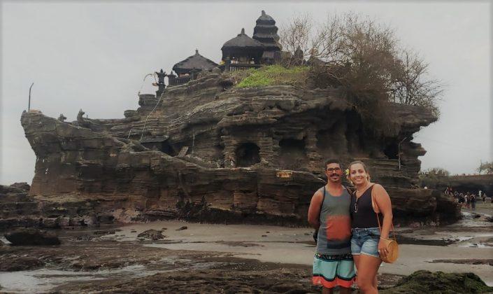 Alexandre Bigode e Daniela Boêta, Tanah Lot, Bali, Indonésia. Foto: @clmimages.