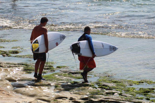 Alexandre Bigode e Sidinho Cury, Bingin, Bali, Indonésia. Foto: @clmimages.