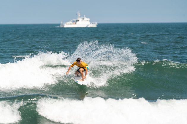 Joshua Burke, ISA World Surfing Games 2019, Miyazaki, Japão. Foto: ISA / Evans.