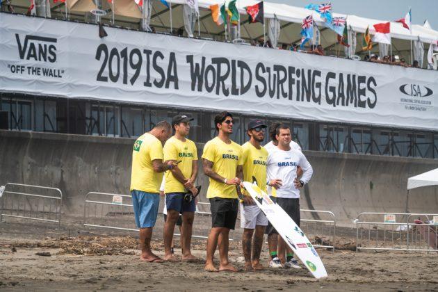 ISA World Surfing Games 2019, Miyazaki, Japão. Foto: ISA / Evans.
