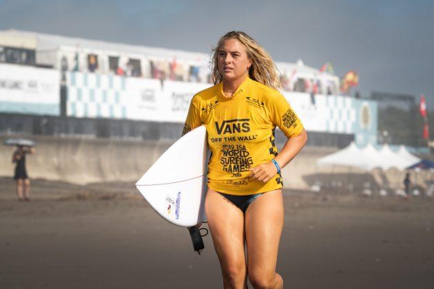 Isabella Gomez, ISA World Surfing Games 2019, Miyazaki, Japão. Foto: ISA / Evans.