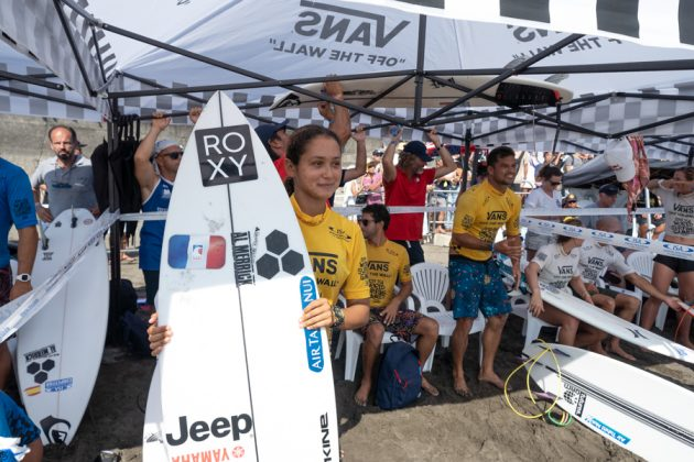 Vahine Fierro, Aloha Cup 2019, Miyazaki, Japão. Foto: ISA / Evans.