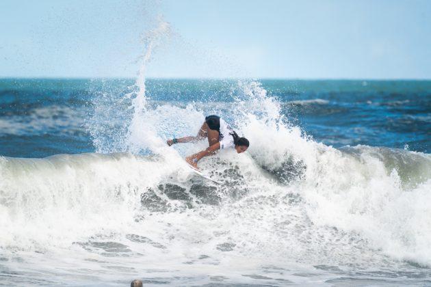 Vahine Fierro, ISA World Surfing Games 2019, Miyazaki, Japão. Foto: ISA / Evans.