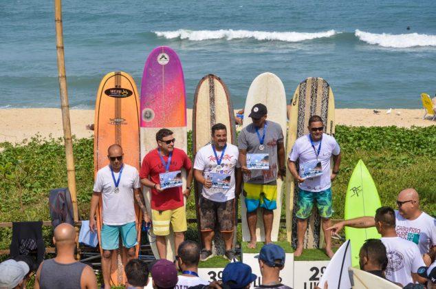 Finalistas Longboard, Grumari (RJ). Foto: 7 AM.