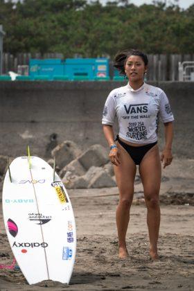 Mahina Maeda, ISA World Surfing Games 2019, Miyazaki, Japão. Foto: ISA / Evans.
