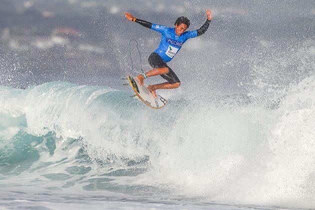Joshua Moniz, Azores Airlines Pro 2019, Santa Barbara, Portugal. Foto: WSL / Masurel.