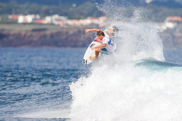 Justin Becret, Azores Airlines Pro 2019, Santa Barbara, Portugal. Foto: WSL / Masurel.