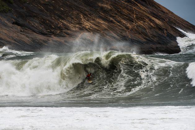 Lucas Chianca, Itacoatiara Big Wave 2019, Niterói (RJ). Foto: Itacoatiara Big Wave.
