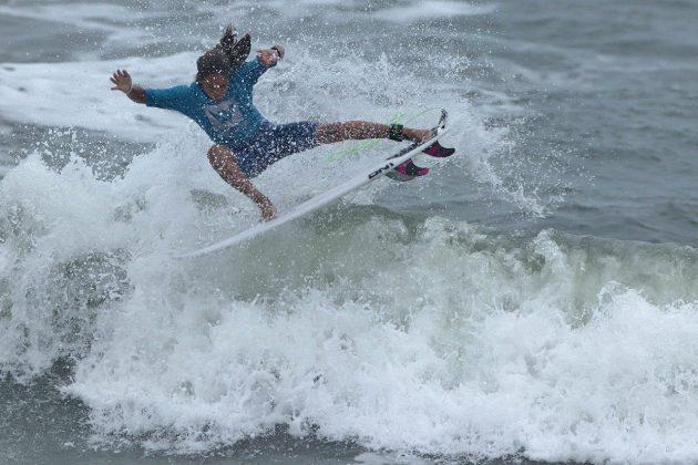 Murilo Coura, Hang Loose Surf Attack 2019, Praia do Tombo, Guarujá (SP). Foto: Munir El Hage.