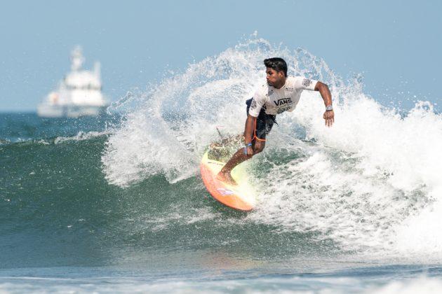 Kelvin Gonzalez, ISA World Surfing Games 2019, Miyazaki, Japão. Foto: ISA / Evans.