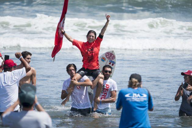 Sofia Mulanovich, ISA World Surfing Games 2019, Miyazaki, Japão. Foto: ISA / Ben Reed.